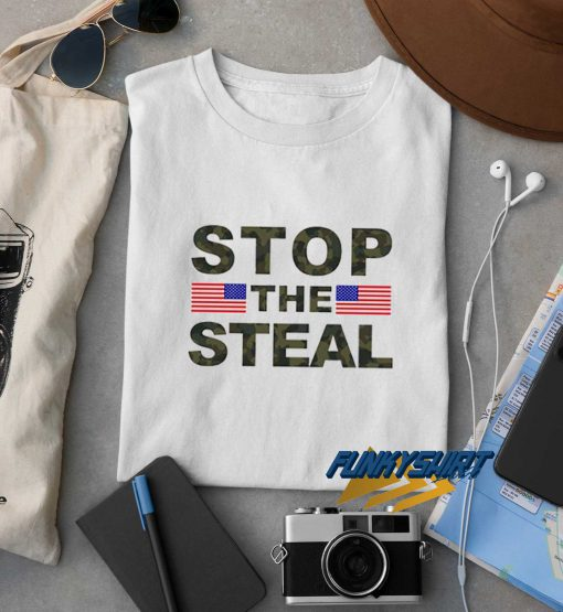 Stop The Steal Usa Flag t shirt