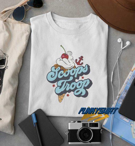 Stranger Things Scoops Troop t shirt