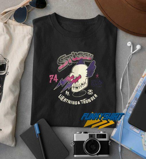 Stussy Lightning N Thunder t shirt