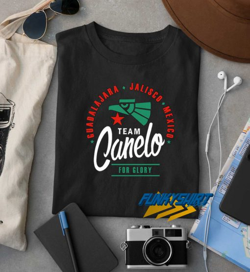 Team Canelo For Glory t shirt