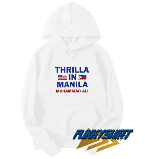 Thrilla In Manila Muhammad Ali Hoodie
