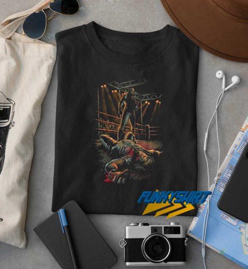 Vintage Duel Cartoon Boxing t shirt