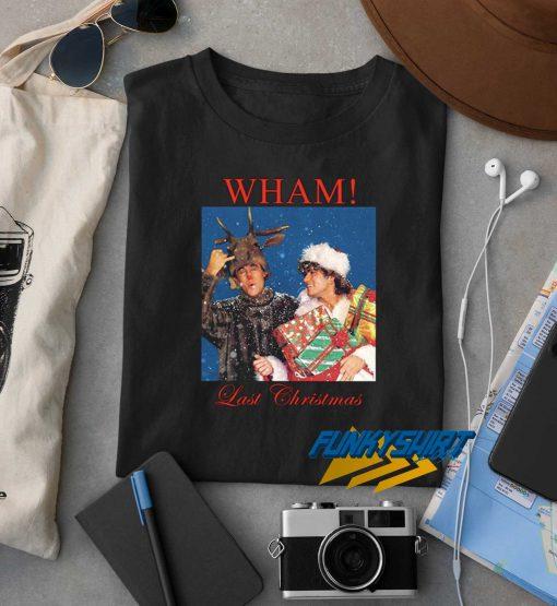 Wham Last Christmas Logo t shirt