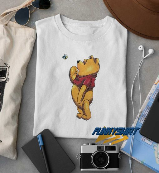Winnie The Pooh And Bee t shirt