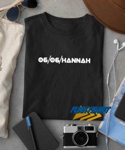06 06 Hannah t shirt