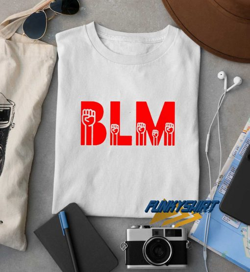 BLM Black Lives Matter Red t shirt