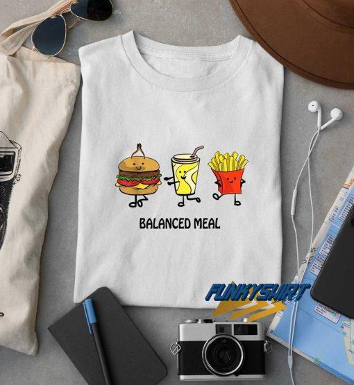 Balanced Meal t shirt