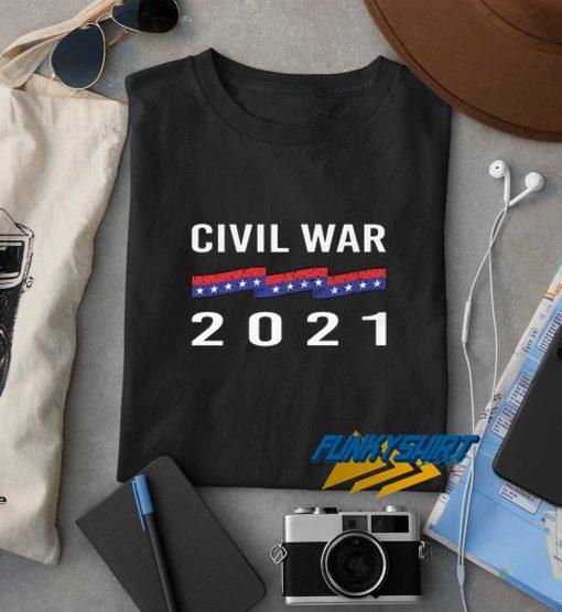 Civil War 2021 t shirt