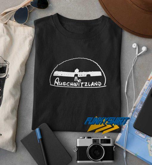 Fascist Rally Auschwitzland t shirt