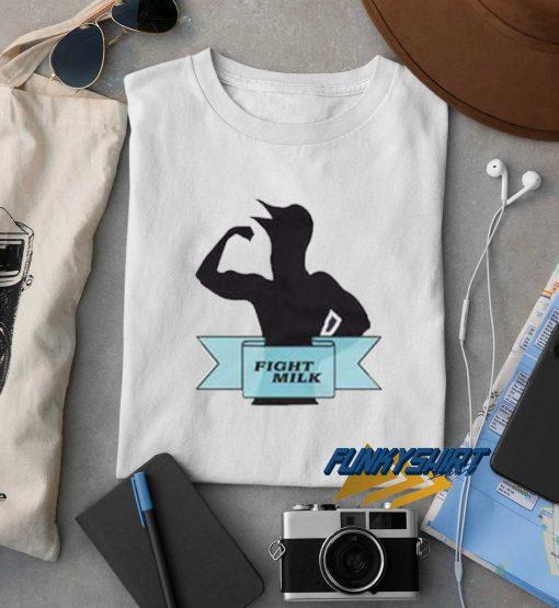 Fight Milk Logo t shirt