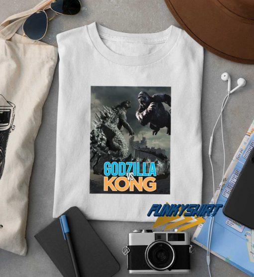 Godzilla Vs Kong Poster t shirt