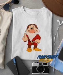 Grumpy Dwarf Middle Finger t shirt