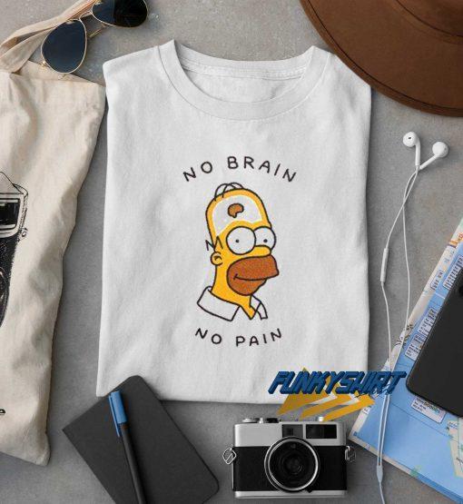 Hamer No Brain No Pain t shirt