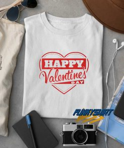 Happy Valentine Day Heart t shirt