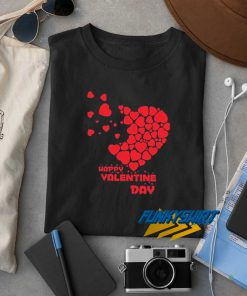 Heart Happy Valentine Day t shirt