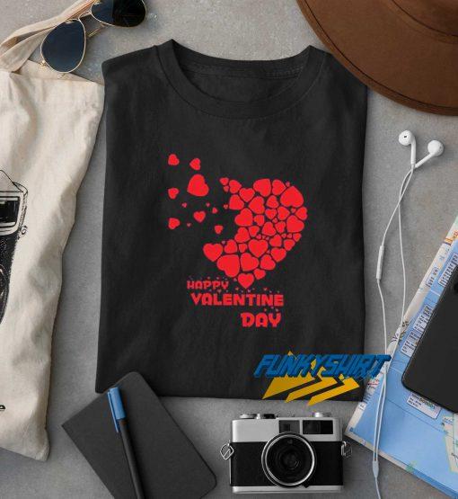 Heart Happy Valentine Day t shirt
