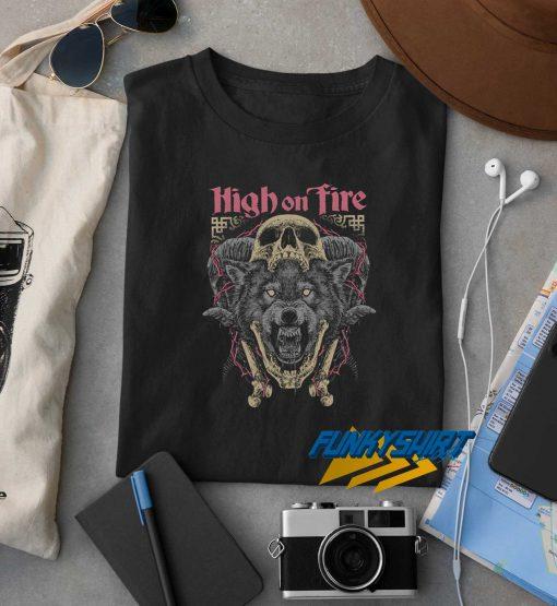 High On Fire t shirt