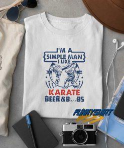 I Like Karate Beer N Boobs t shirt