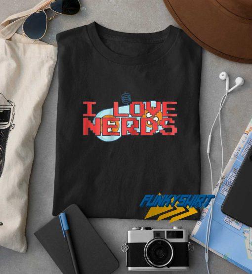 I Love Nerds Graphic t shirt