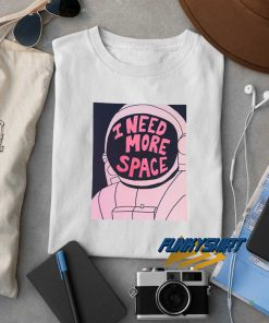 I Need More Space Graphic Pink t shirt