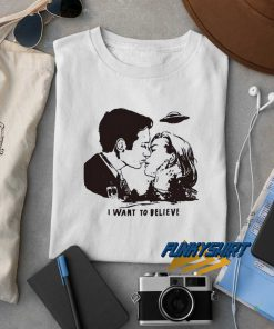 I Want To Believe Art t shirt