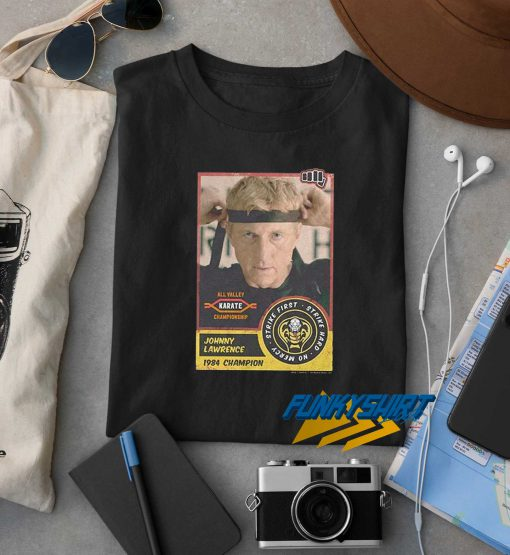 Johnny Lawrence Poster Face t shirt