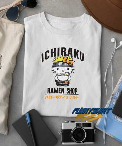 Kitty Ichiraku Ramen Shop t shirt