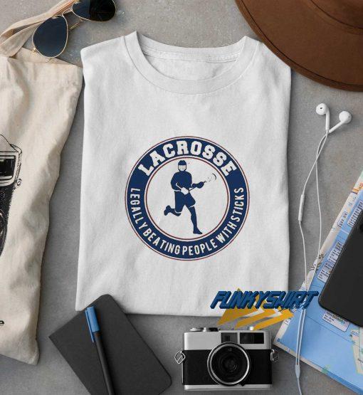 Lacrosse Logo t shirt