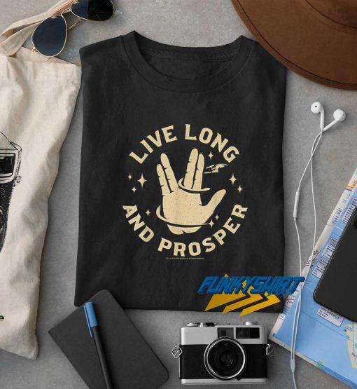 Live Long And Prosper Hands t shirt