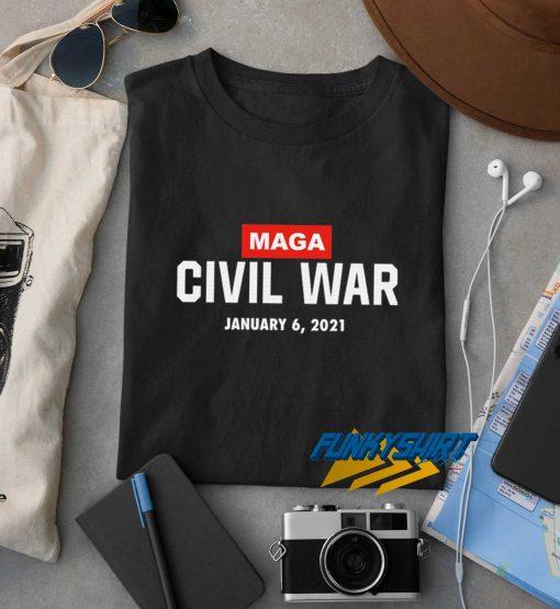 Maga Civil War 2021 t shirt