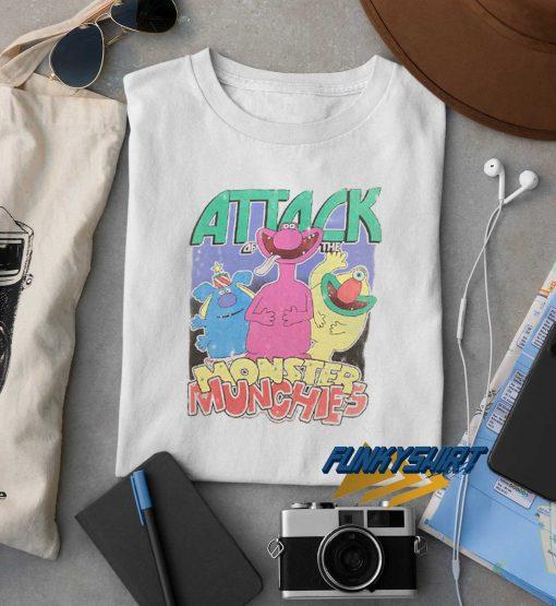Monsters Munchies t shirt