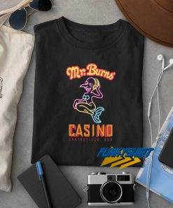 Mr Burns Casino t shirt
