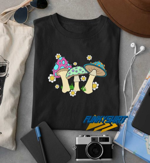 Mushrooms Colour t shirt