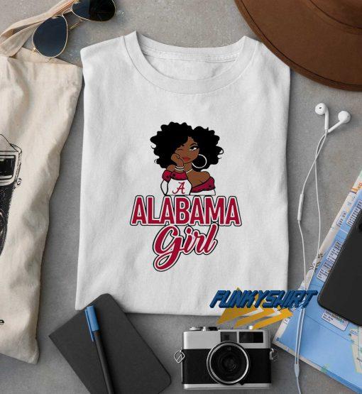 Oklahoma Alabama Girl t shirt