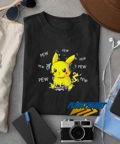Pikachu Listening Music t shirt