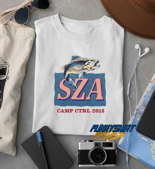 SZA Camp CTRL 2018 t shirt