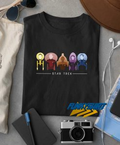 Star Trek Starfleet Captains t shirt