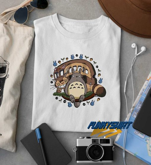 Totoro And Freind t shirt