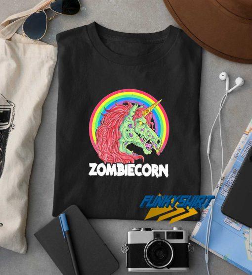 Zombiecorn Rainbow t shirt