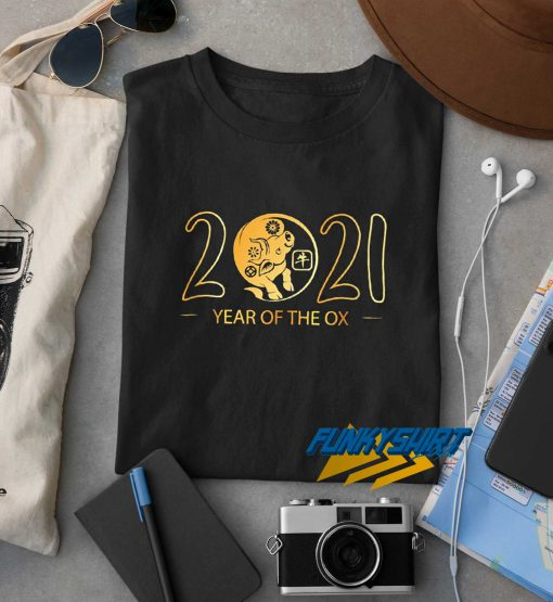 2021 Year Of The Ox Logo t shirt