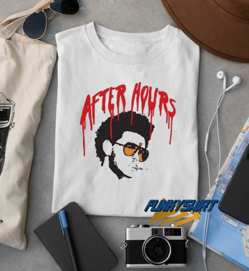 After Hours Drip The Weeknd t shirt