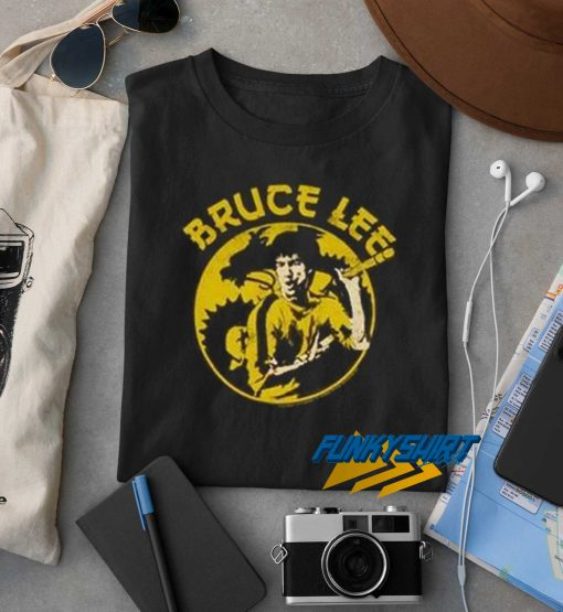Bruce Lee And Dragon t shirt