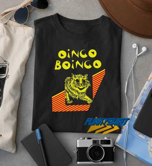 Cat Oingo Boingo t shirt
