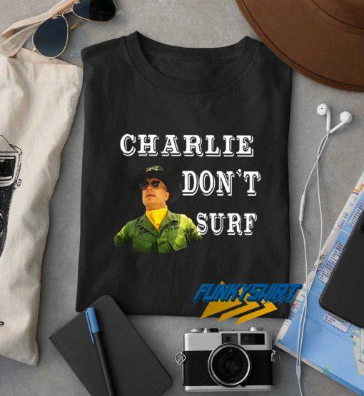 Charlie Dont Surf Vintage t shirt