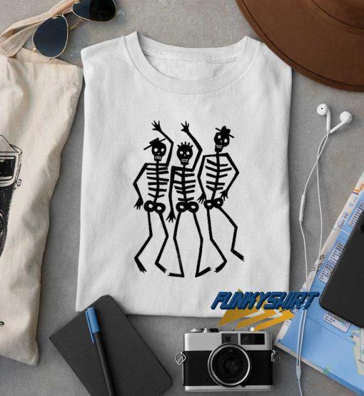 Dancing Skeletons Art t shirt