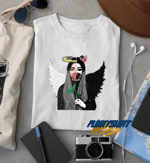 Devil Gemini Angel Demon t shirt