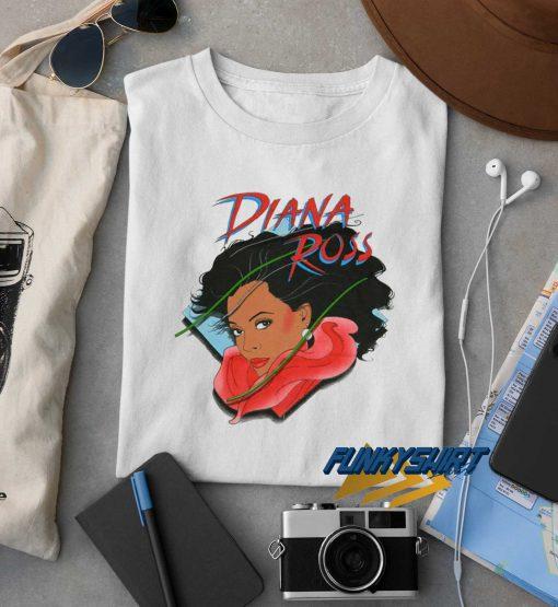 Diana Ross Art t shirt