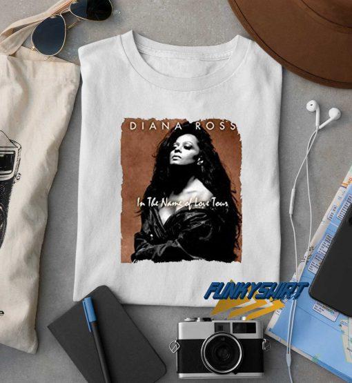 Diana Ross Love Tour t shirt