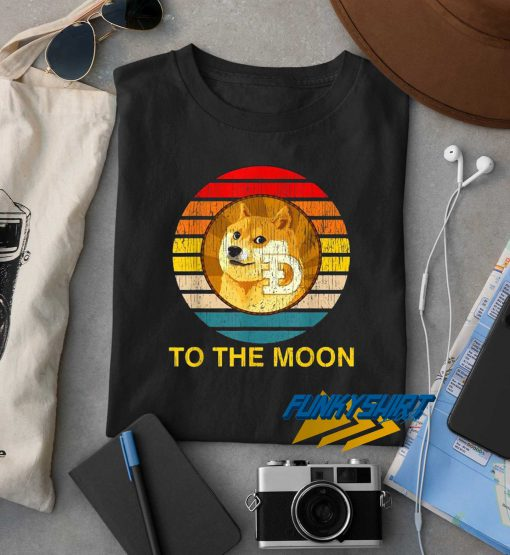 Doge To The Moon Vintage t shirt