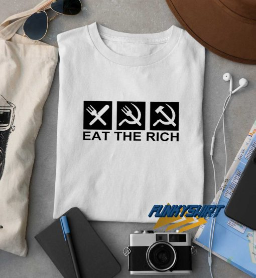 Eat The Rich Logo t shirt